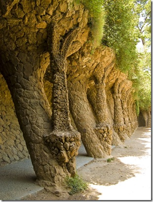 Parc Guell. Barcelona.