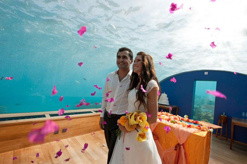 Conrad Maldives Rangali - элитный отель на свете