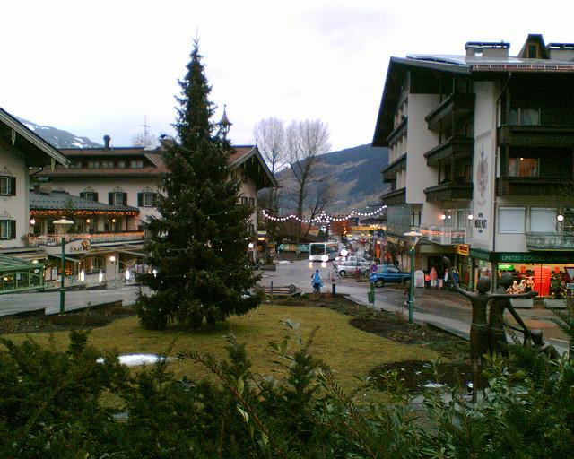 городок сельского типа Хинтертукс