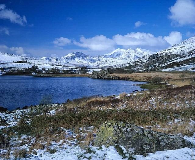 Общенациональный парк Сноудония - кладе Уэльса