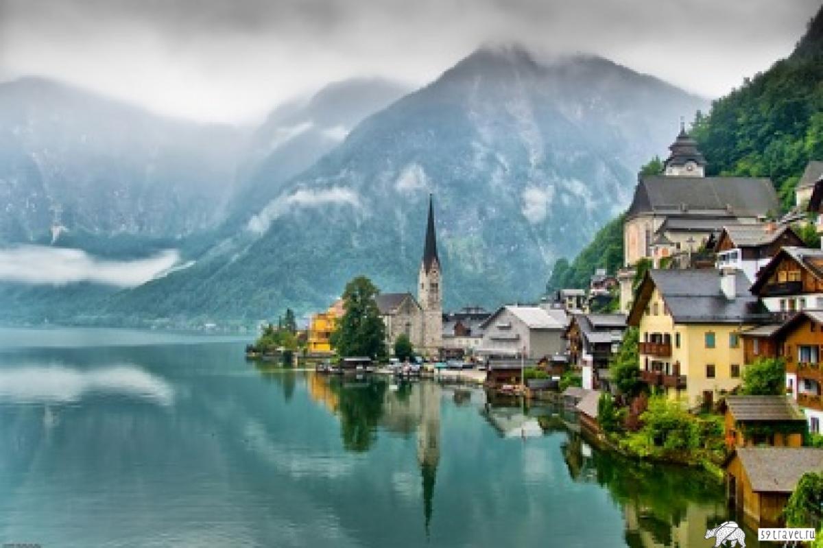 Австрия, голубой Дунай
