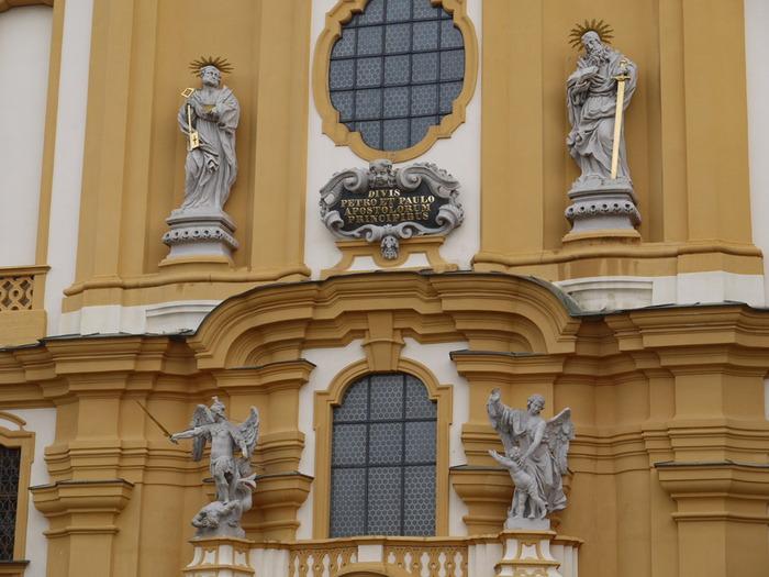библилтека монастыря в Мельке