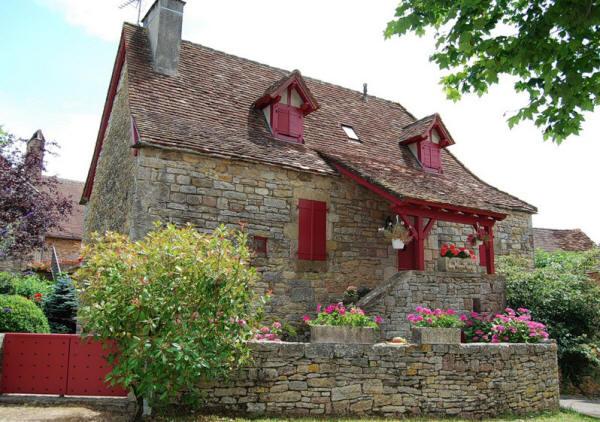 """Loubressac - одна из """"Красивейших деревень Франции"""""""