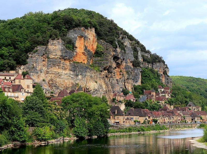 Деревня La Roque Gageac