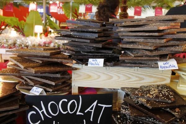 рмарка шоколада в Лионе